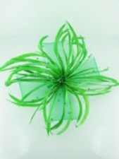 Green Fascinators
